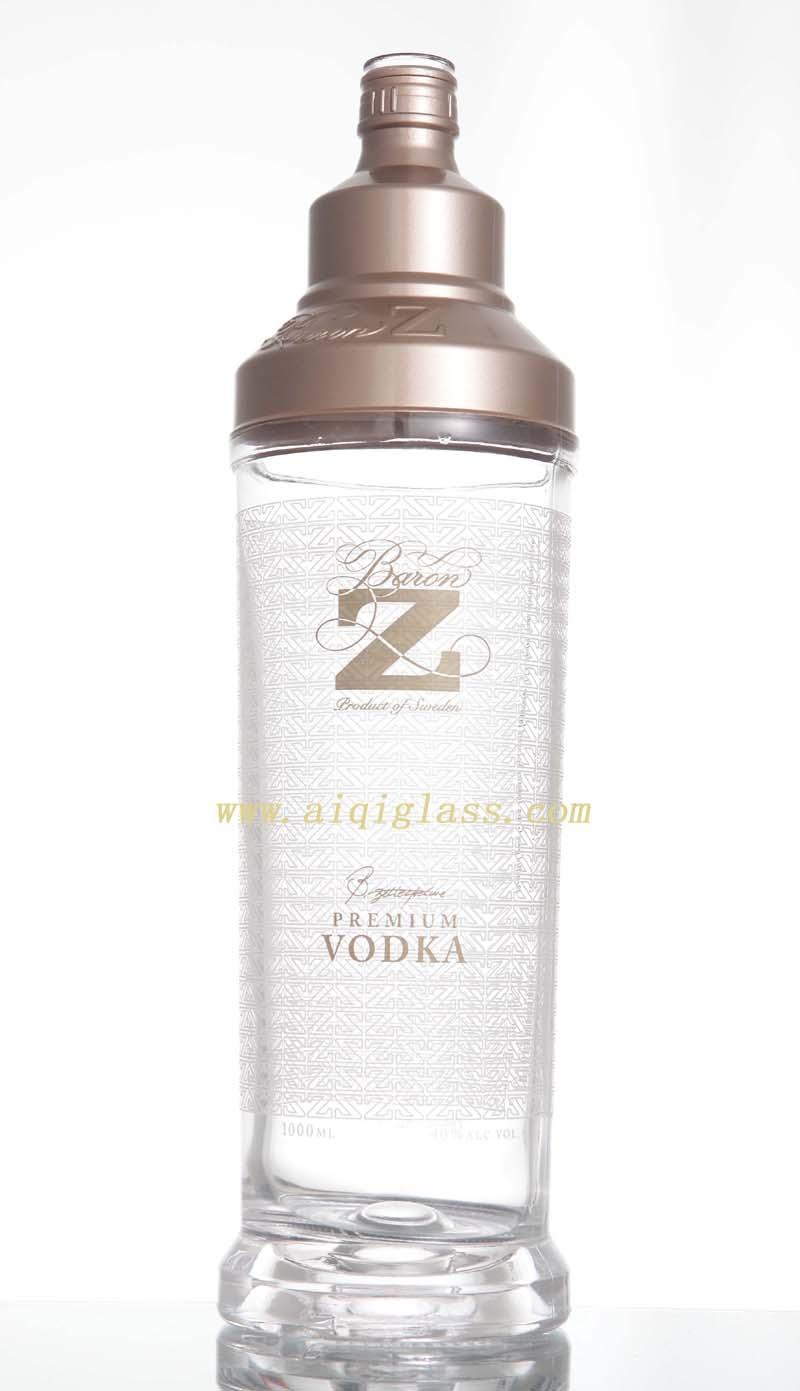 (点击看连体)广州爱淇原图包装制品伏特加酒瓶女长阔腿裤玻璃图片