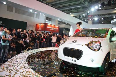 吉利成最具价值汽车自主品牌