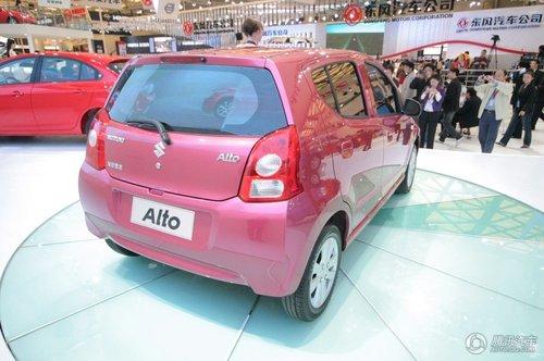 首推自动挡车型,长安新奥拓投产在即高清图片