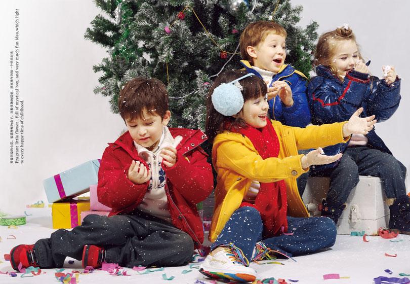 海尔兄弟童装2010秋冬新款系列打造儿童的快乐童年