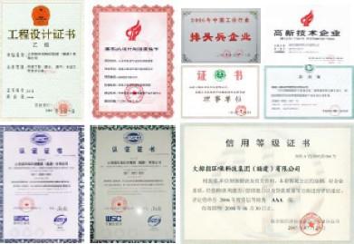 各类资质证书