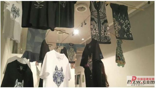 七匹狼携DNA狼文化系列T恤参加MFIA东方设计展
