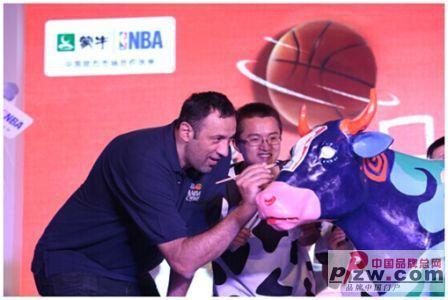 畅享欢乐点滴蒙牛携手球迷追梦NBA