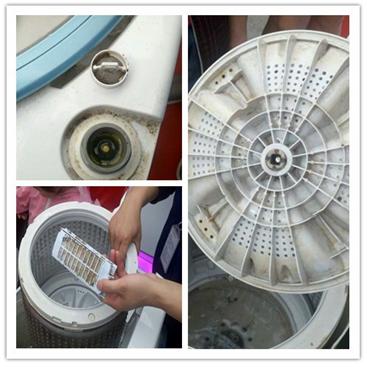 海尔洗衣机免费清洗活动到达重庆南滨洋河