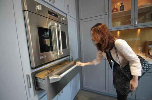 GE Appliances旗舰店开业首日签10单 均价5万+