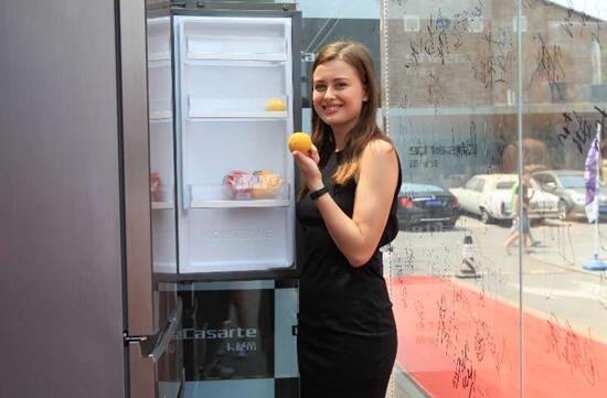 全球高端用户见证:卡萨帝封箱7天食材新鲜如初
