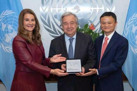 联合国秘书长又给马云点赞了