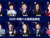 2020中国十大首席品牌官在京揭晓